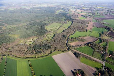Luftaufnahme Barneführer Holz