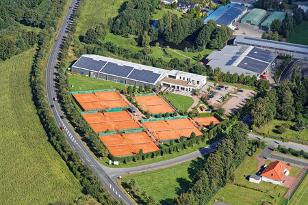 Luftaufnahme Tennisverein