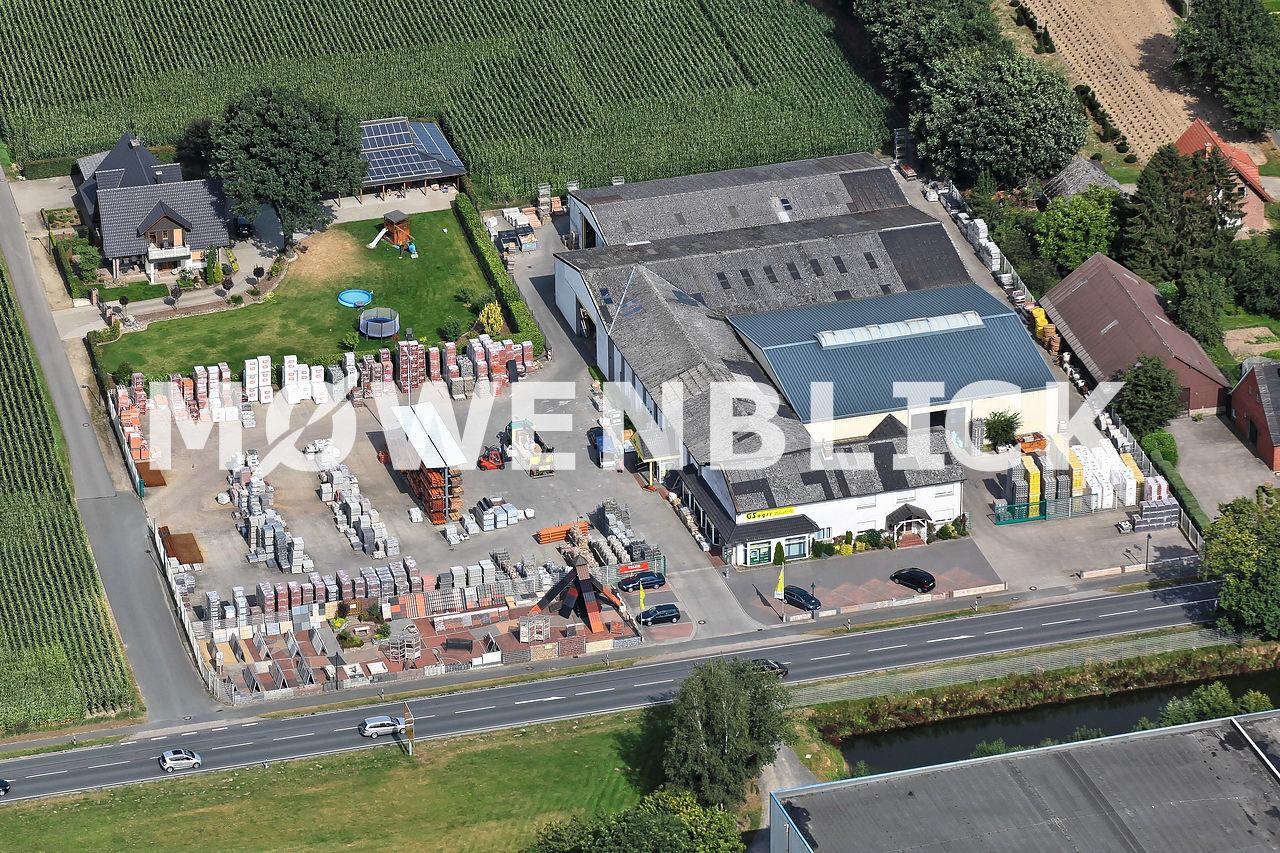 GS Agri Baustoffe Luftbild