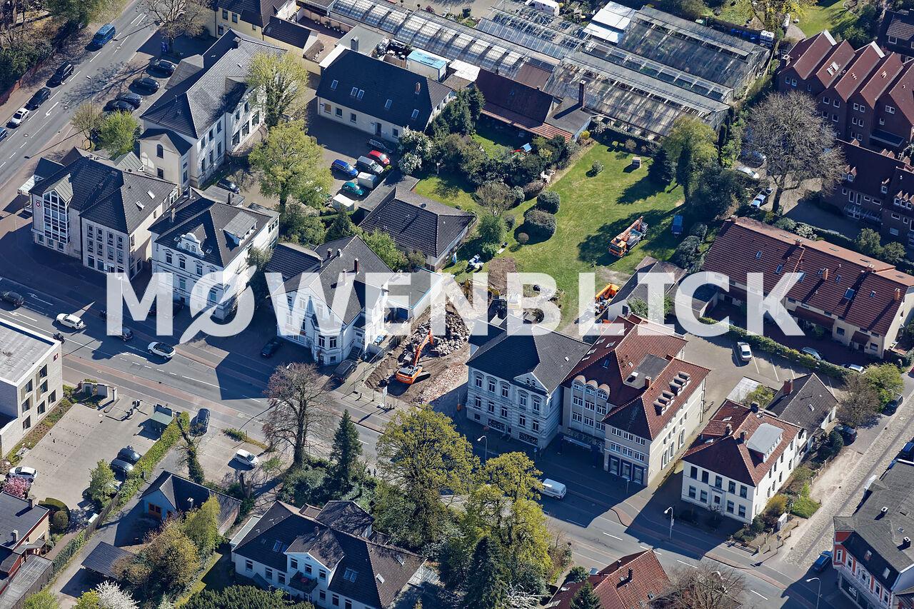 Abriss Oldenburg Luftbild
