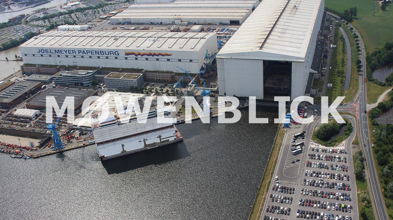 Besucherzentrum Luftbild