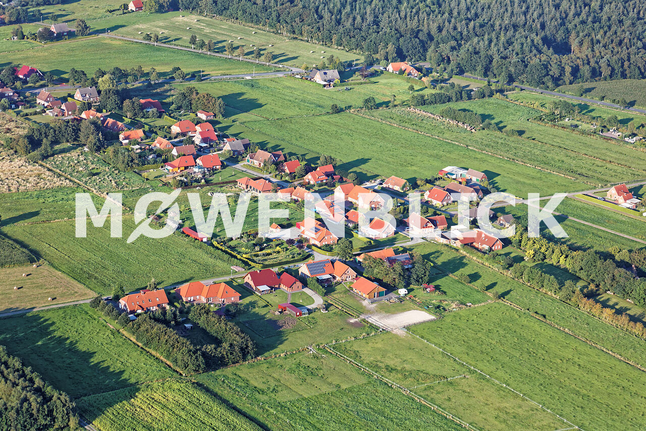 Rosenweg Luftbild