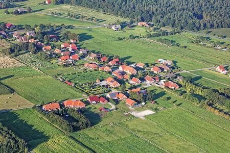 Luftaufnahme Siedlung