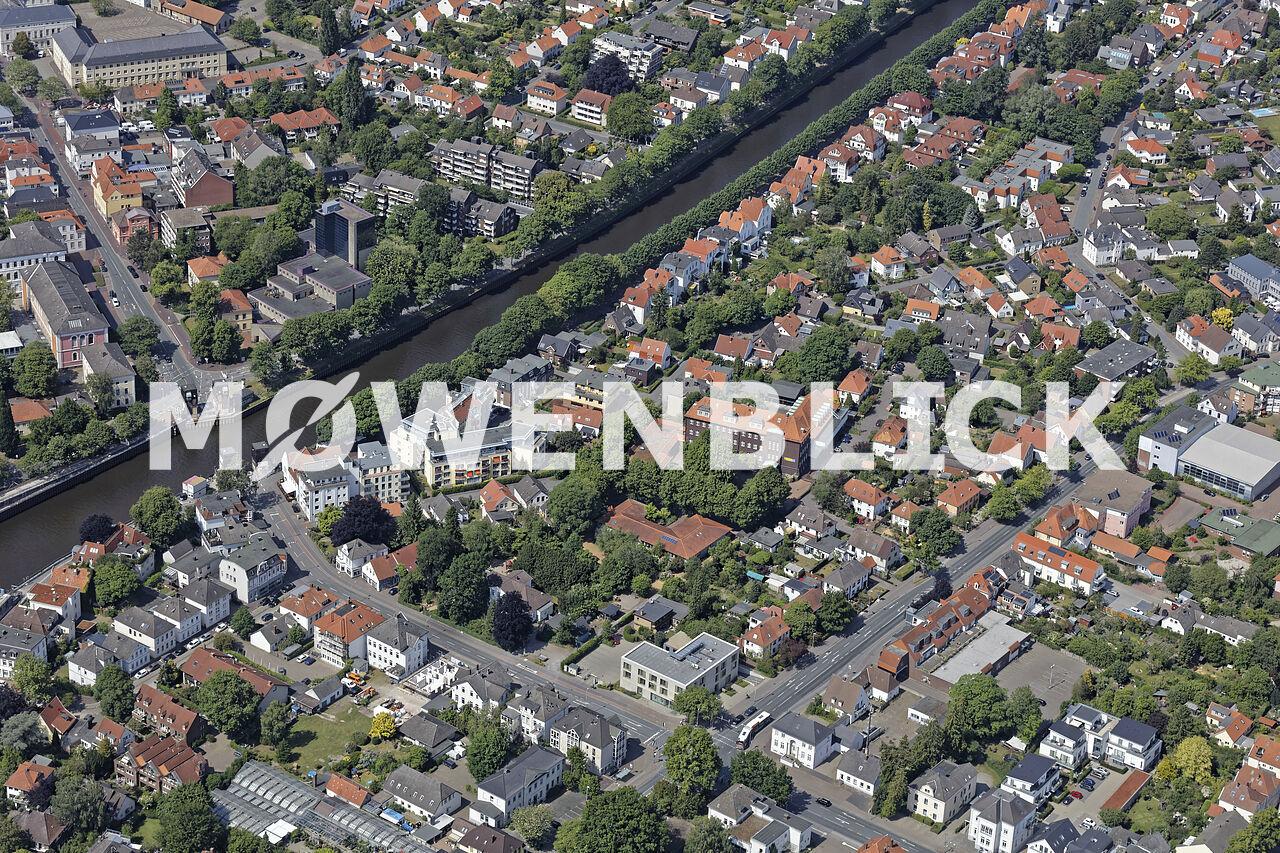 Hermannstraße Luftbild