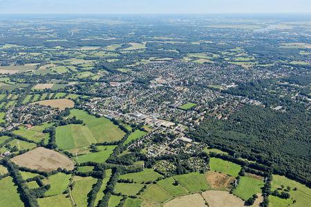 Luftaufnahme Schwanewede von oben