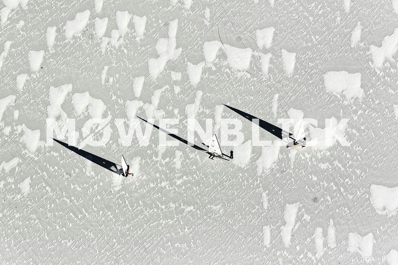 Eis Luftbild