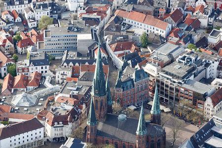 Luftaufnahme Kirche