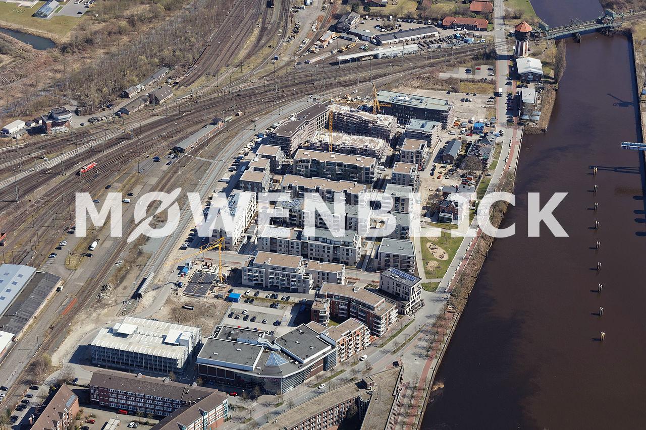 Stadthafen Luftbild