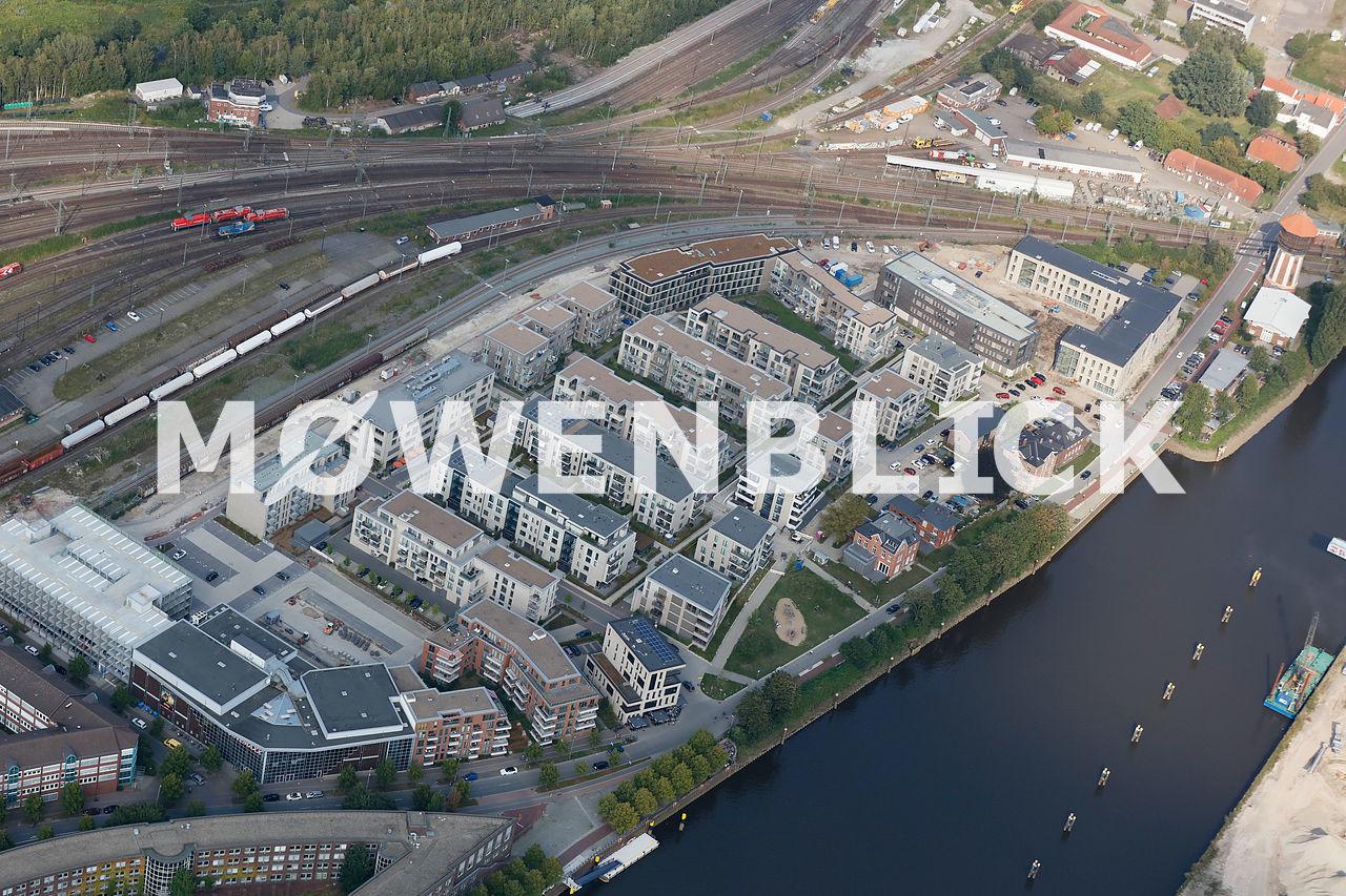 Neubaugebiet Alter Stadthafen Luftbild