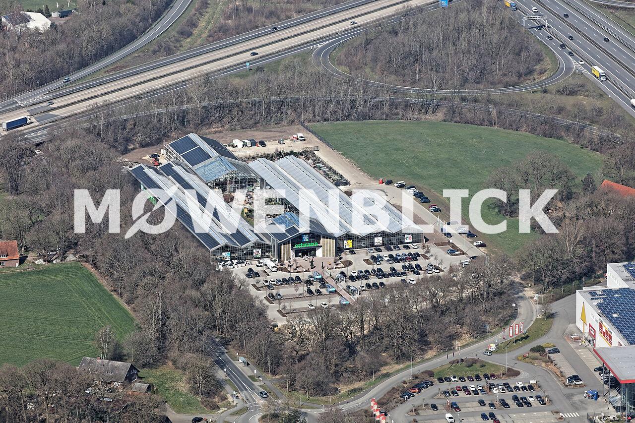 Gartencenter Ostmann Luftbild