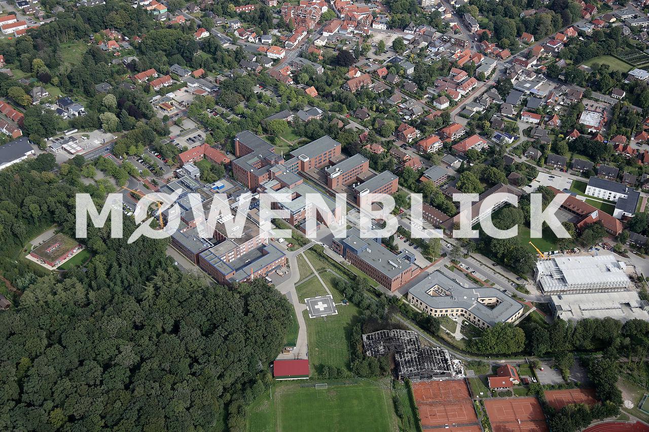 Ammerland Klinik Luftbild