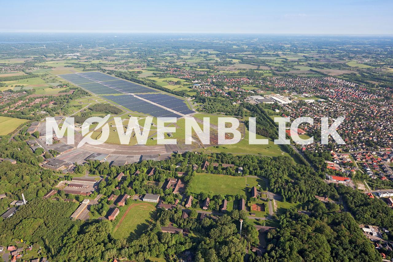Solarpark Wiefelstede Luftbild