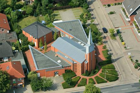 Luftaufnahme Matthäus-Kirche