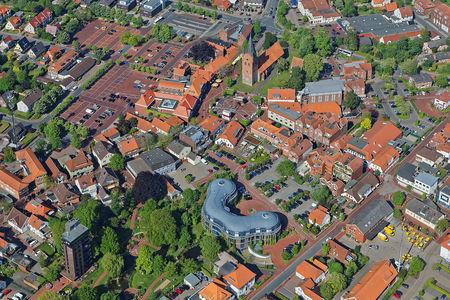 Luftaufnahme Innenstadt Zum Stadtpark