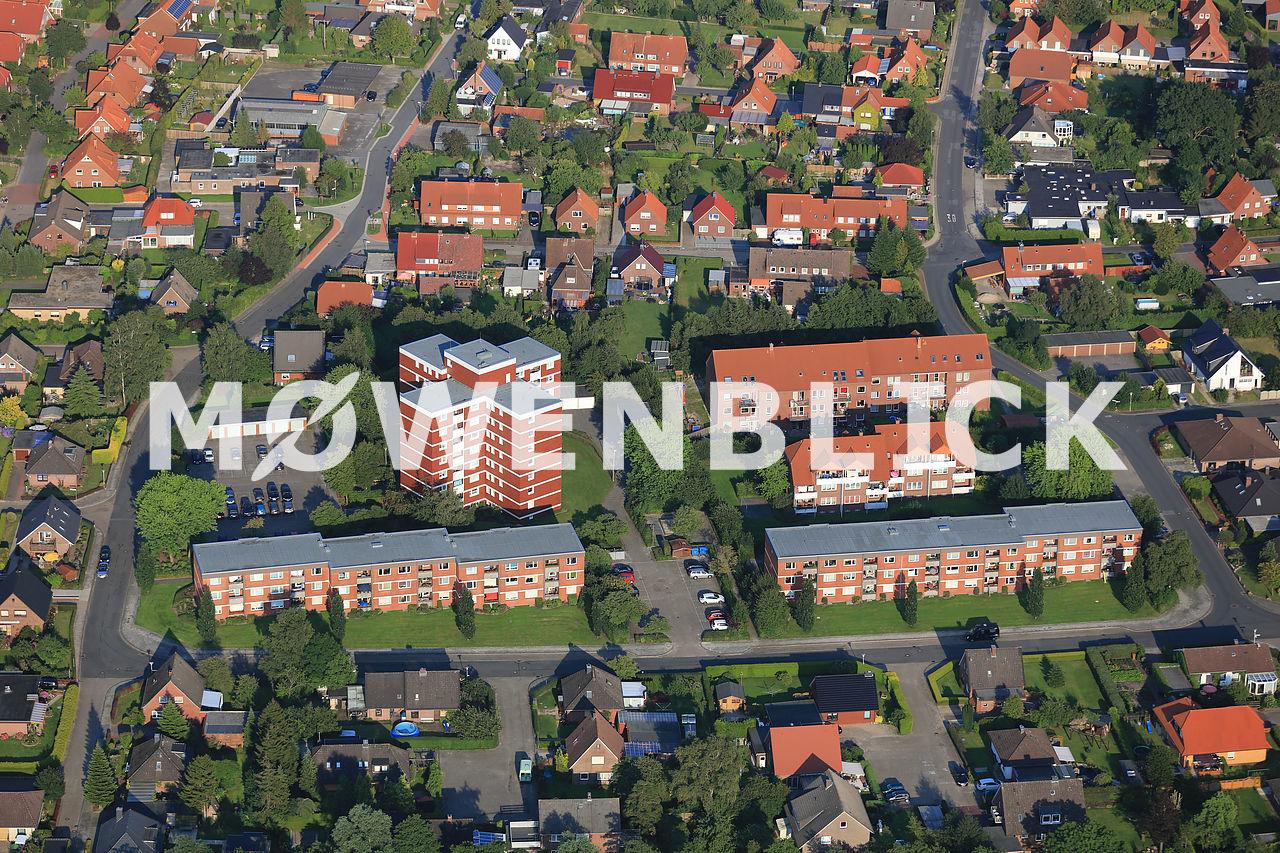 Leipziger Straße Luftbild