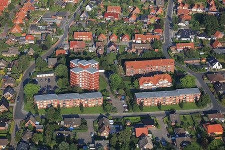 Luftaufnahme Leipziger Straße