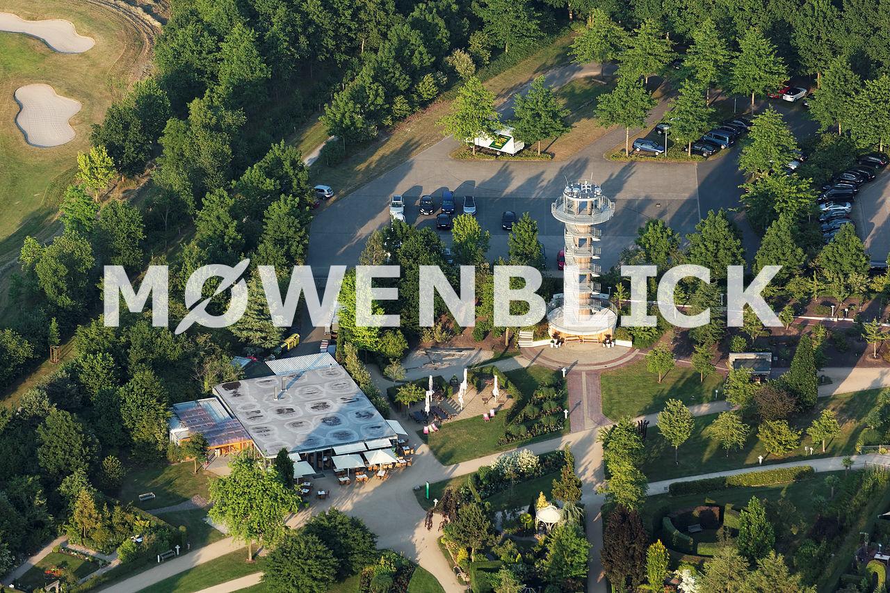 Park der Gärten Luftbild
