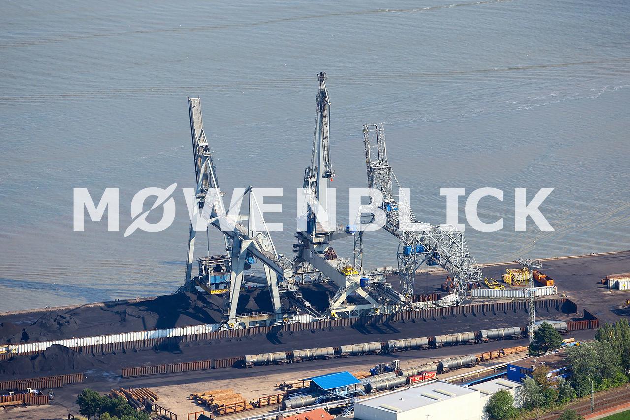 Brückenkran Luftbild