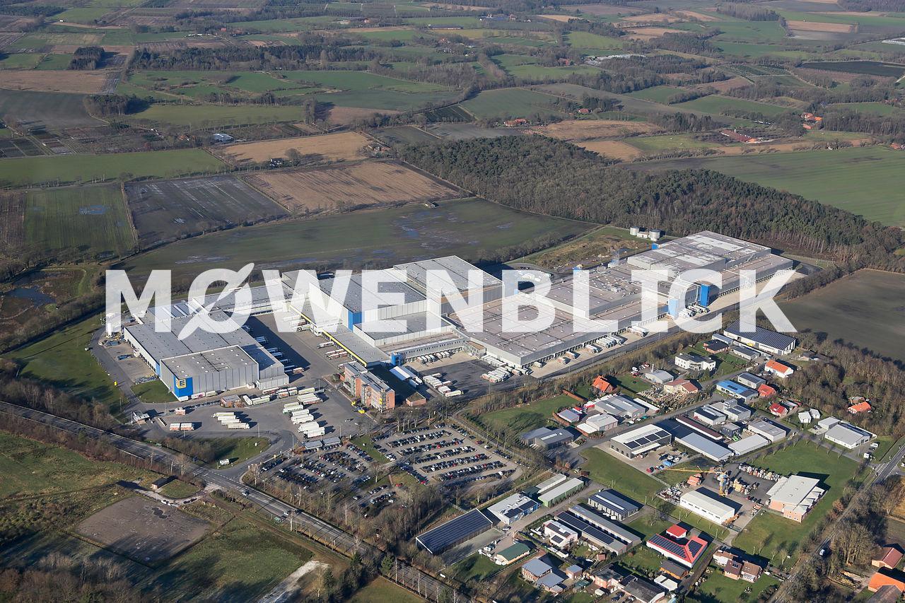 EDEKA Zentrallager Luftbild
