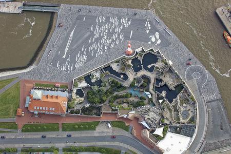 Luftaufnahme Zoo am Meer