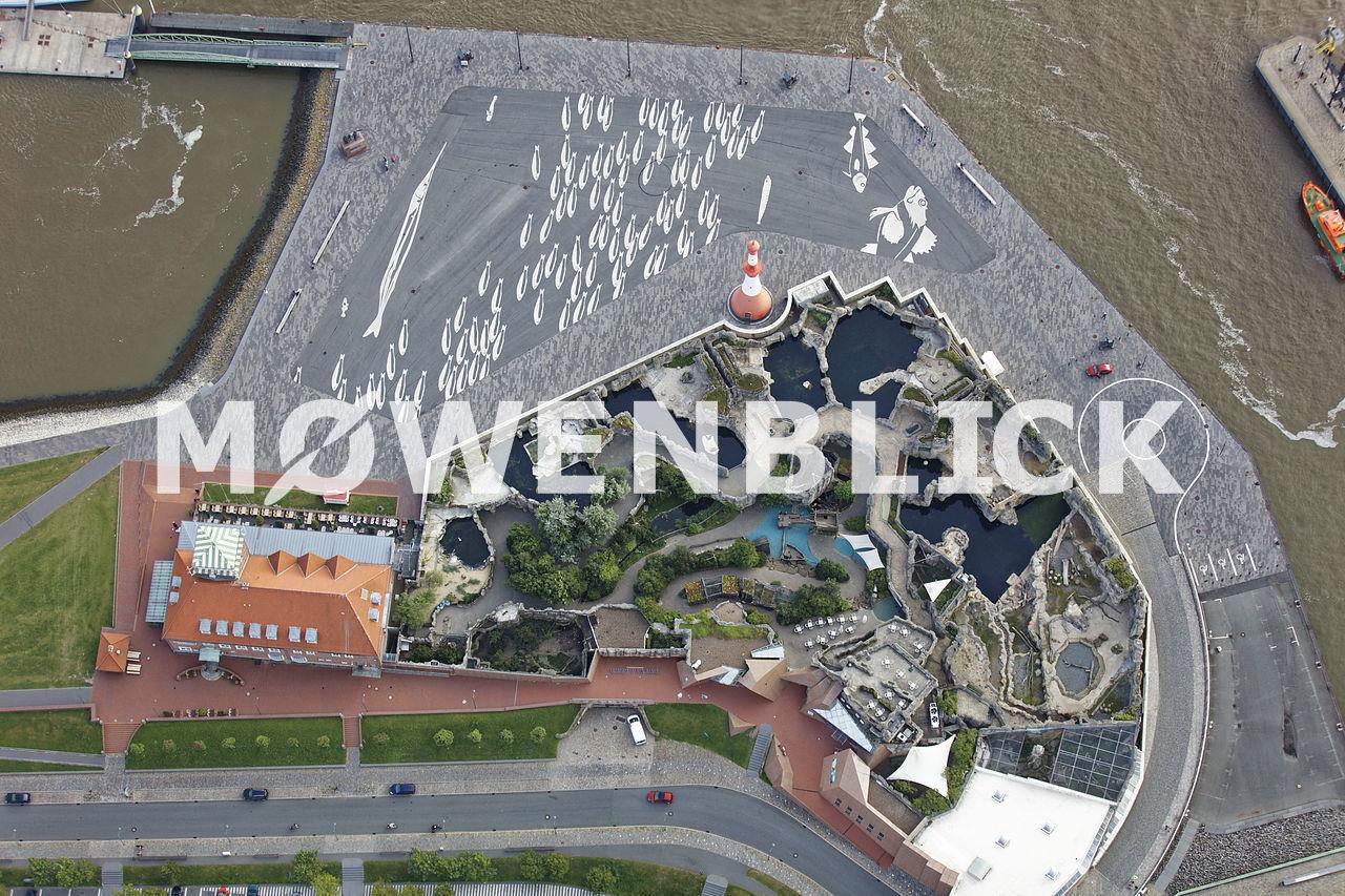 Zoo am Meer Luftbild