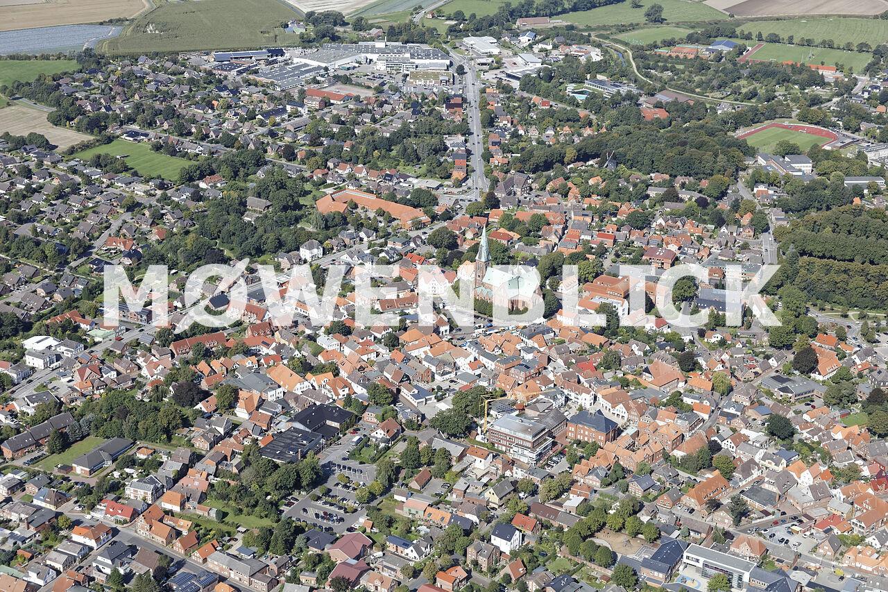 Stadtzentrum Luftbild