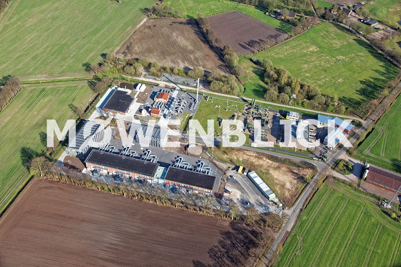 Verdichterstation Luftbild