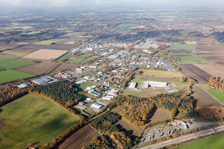 Luftaufnahme Wardenburg