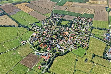Luftaufnahme Rysum Luftbild