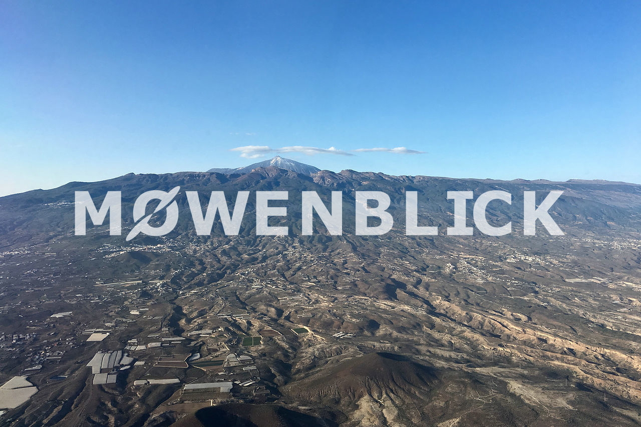Teide Luftbild