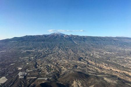 Luftaufnahme Stadt La Orotava