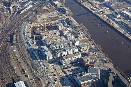 Luftaufnahme Alter Stadthafen