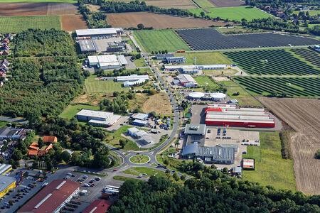 Luftaufnahme Gewerbegebiet Südring