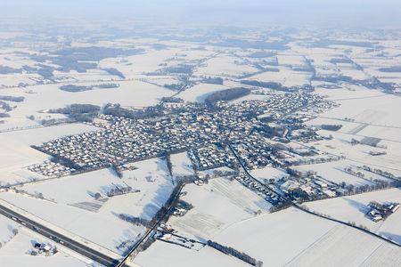 Luftaufnahme Winter