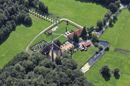 Luftaufnahme Ihlow Kloster