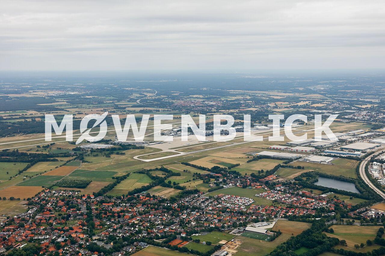 Flughafen Hannover Luftbild
