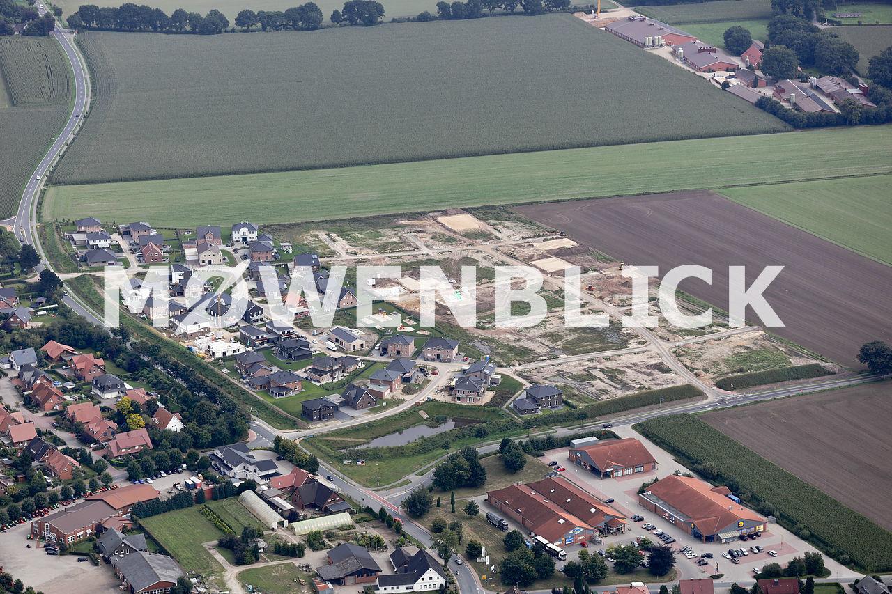 Baugebiet Bachstraße Luftbild