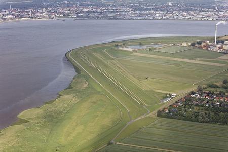 Luftaufnahme Flugplatz Blexen