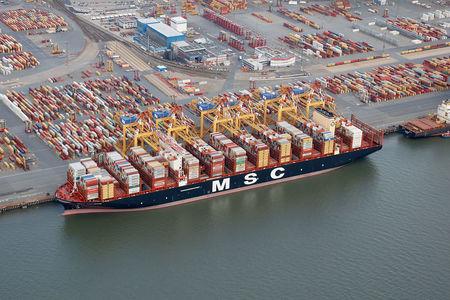 Größtes Containerschiff MSC Gülsün