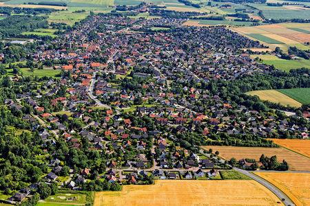 Luftaufnahme Harpstedt