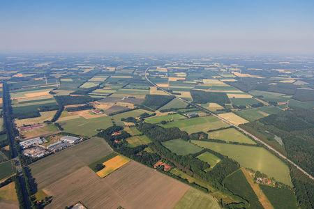 Luftaufnahme Windpark Prinzhöfte
