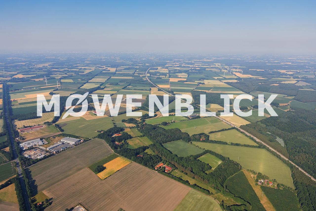Windpark Prinzhöfte Luftbild