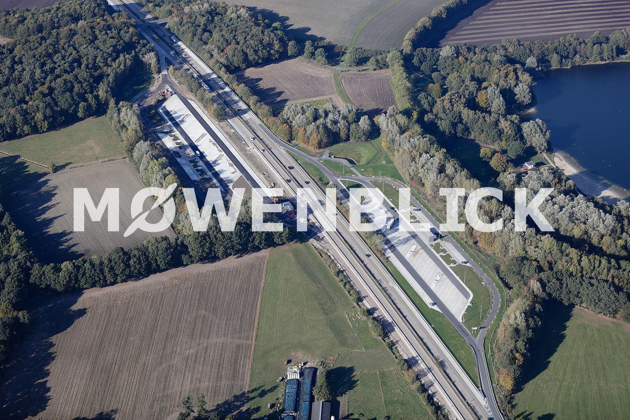 Parkplatz Bornhorster Wiesen Etzhorn-West Luftbild