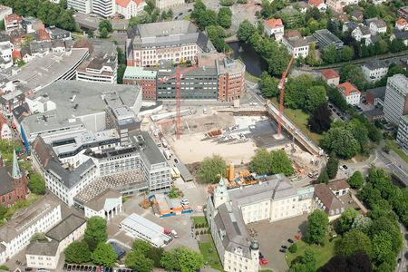 Luftaufnahme Schlossplatz