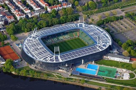 Luftaufnahme Weserstadion