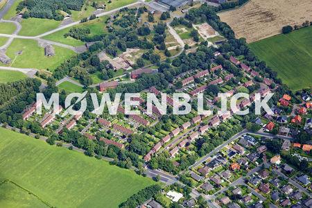 Luftaufnahme Fliegerhorst-Siedlung