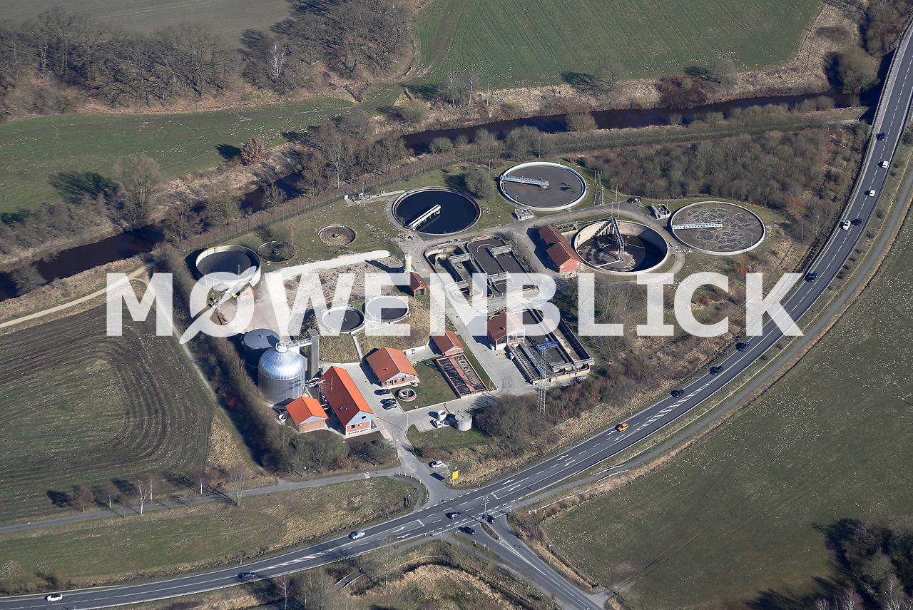 Klärwerk Luftbild