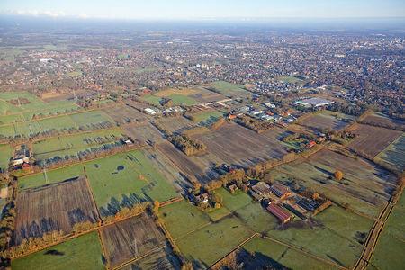 Luftaufnahme Stadt Nordmoslesfehn
