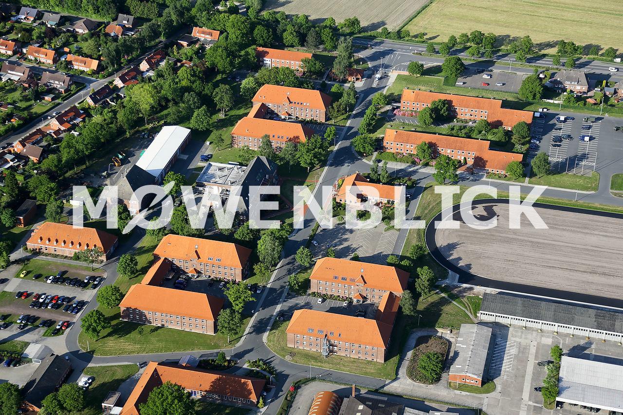 Evenburg Kaserne Luftbild