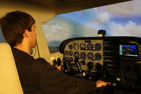 FLY-4D Cessna Simulator